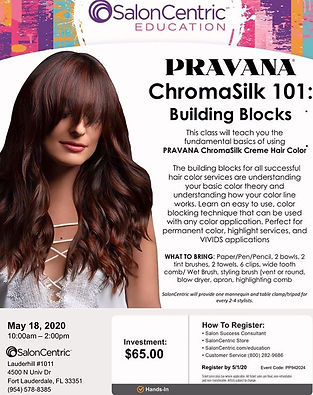 Pravana Chromosilk 101 Class