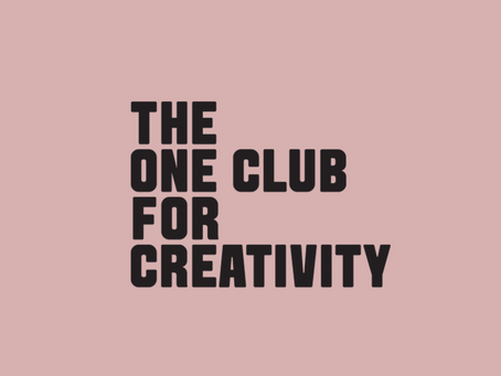 ONE CLUB FOR CREATIVITY LOGO DESIGN