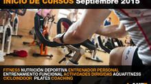 ABIERTAS INSCRIPCIONES CURSOS SEPTIEMBRE 2015