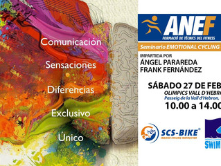 EMOTIONAL CYCLING..., dia 7 de mayo,... en ANEF (Barcelona).