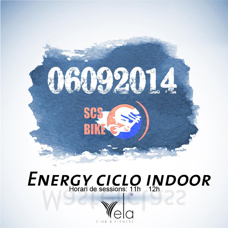 ENERGY CICLO INDOOR, en Vela.