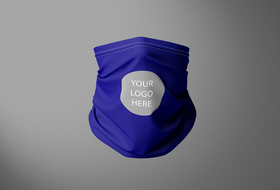 School Gaiter  Single Logo/ Select your school from the dropbox