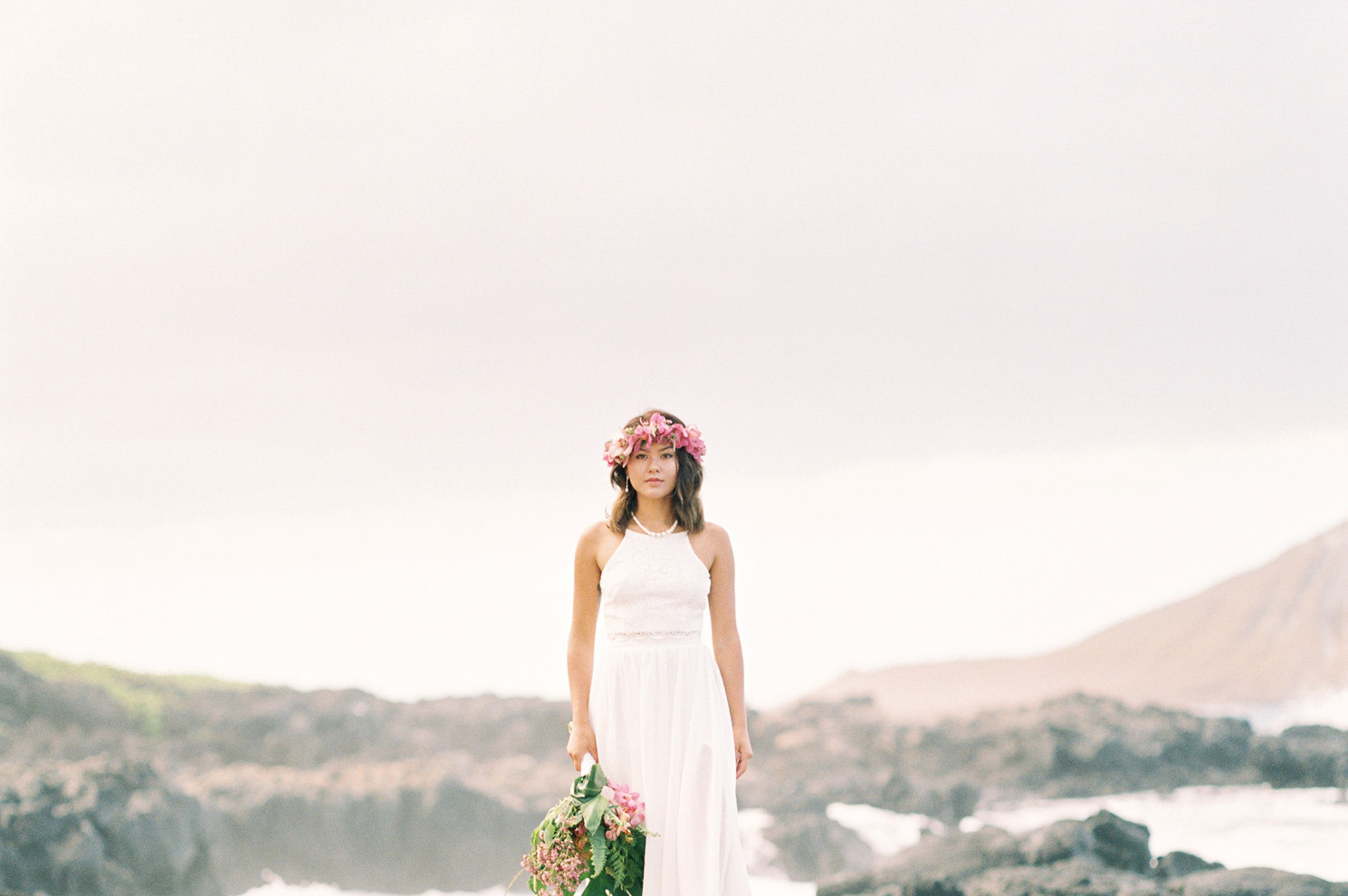 Fine Art Hawaii Wedding