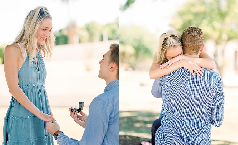 Scottsdale wedding proposal