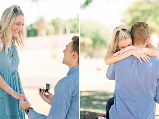 Jessica and Chad's Proposal at Scottsdale Civic Center