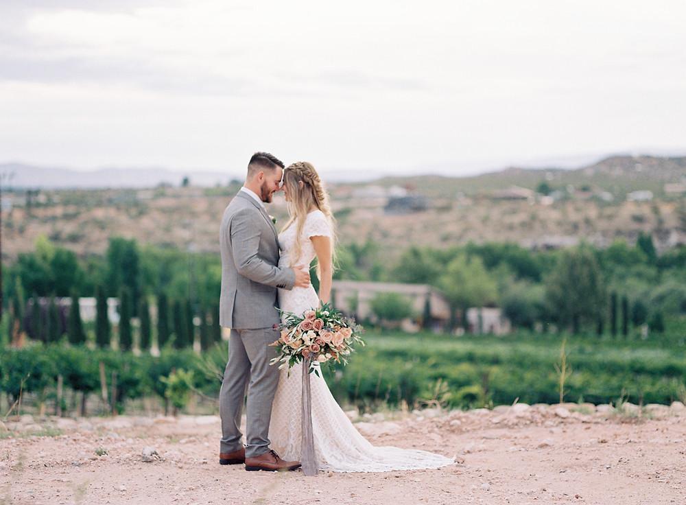 Alcantara Vineyards Wedding, Arizona Fine Art weddings, Arizona fine art wedding photographer