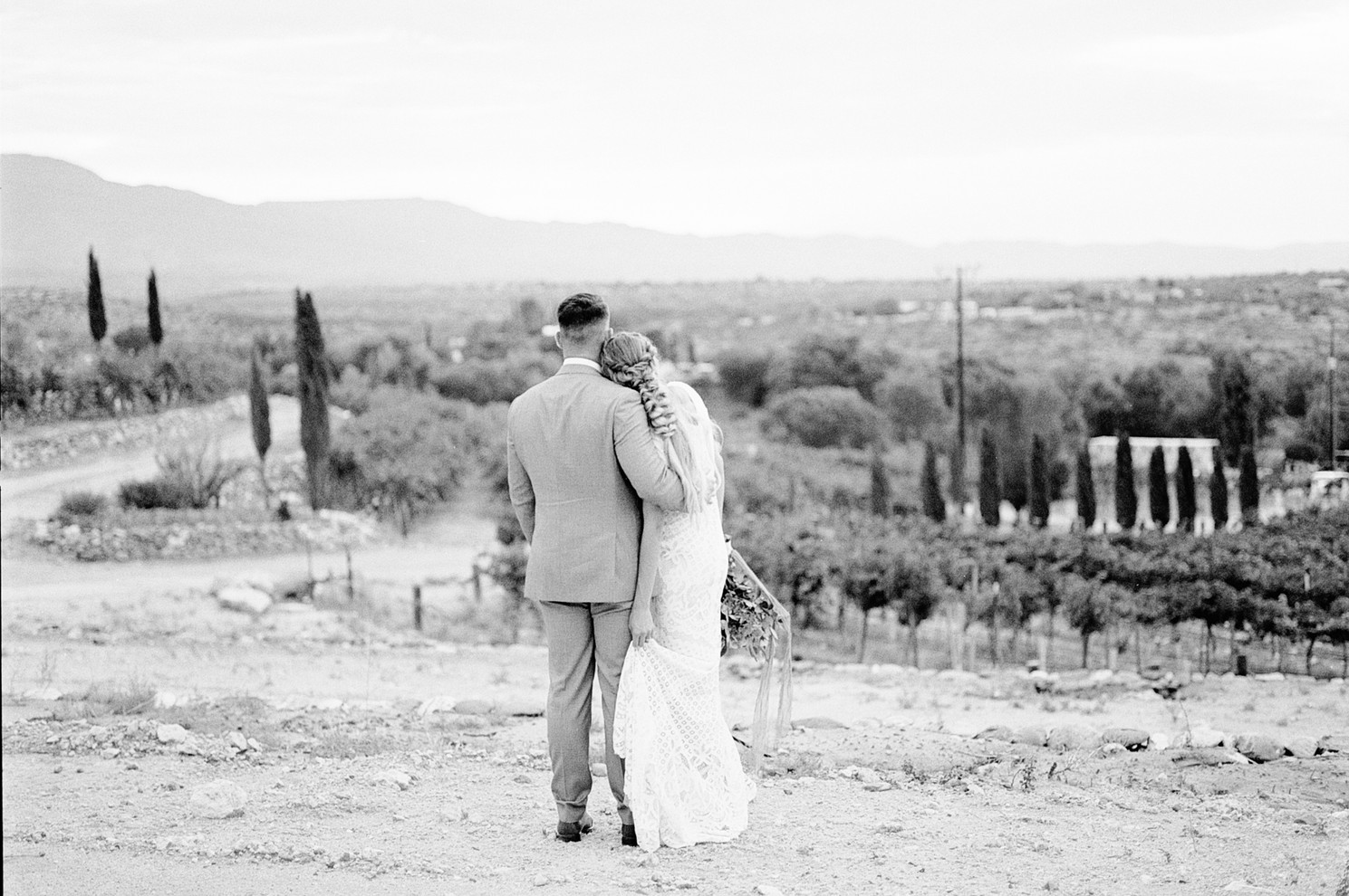 Alcantara Vineyards Wedding, Fine Art Arizona Wedding, Fine Art Film Arizona Wedding Photographer.