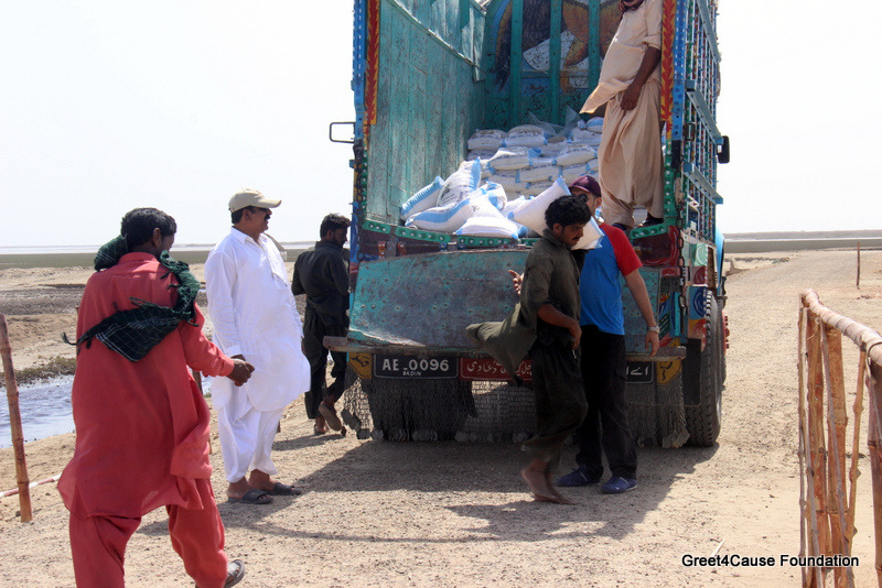Zakat Distribution at Goth Zero