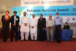 Pakistan Services Award given to Bur
