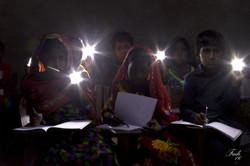 Lights donated by Nizam Energy