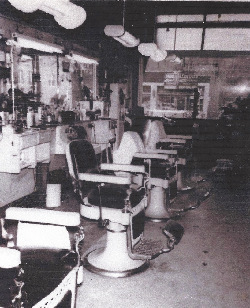 Mr. Hansen's Father's Barbershop