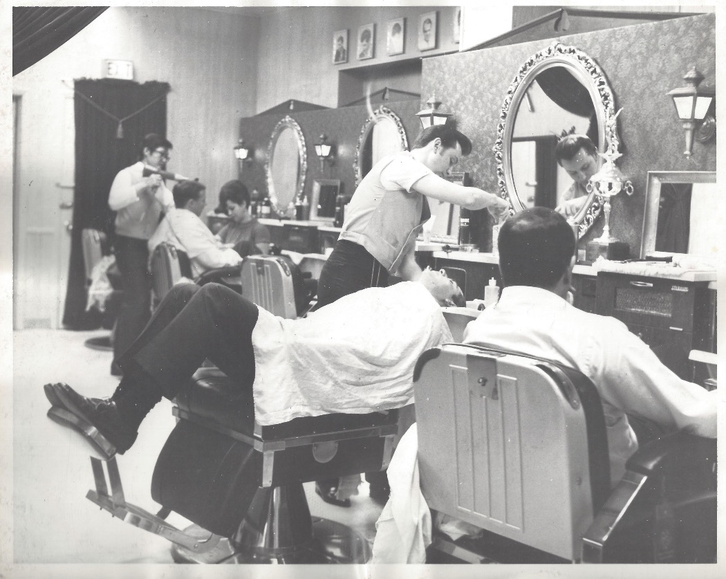 Mr. Hansen's 1st Men's Salon in 1967