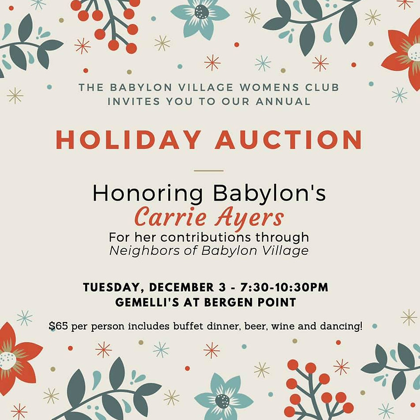 BVWC 2019 Holiday Auction