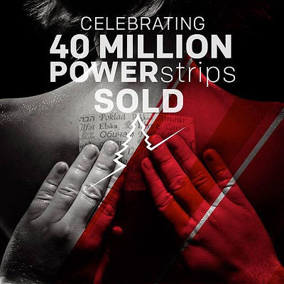 powerstrips celebrating