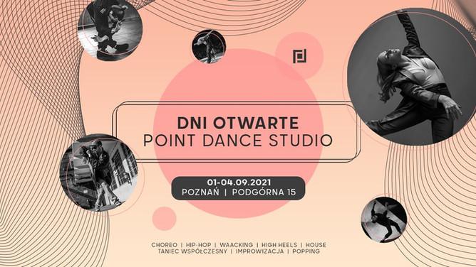 ■ Dni Otwarte w Point Dance Studio Poznań 1-4.09