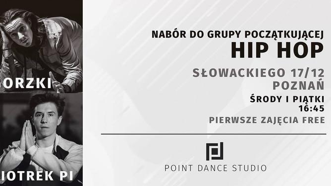 ■ Nabór do grupy początkującej w Point Dance Studio - sezon 2018/2019