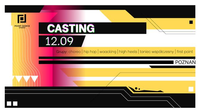 ■ Casting/nabór do grup i formacji w Point Dance Studio - Poznań