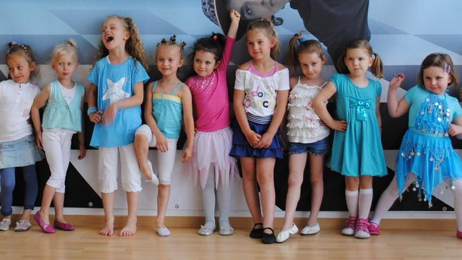 Otwarcie grup dla dzieci w Point Dance Studio!