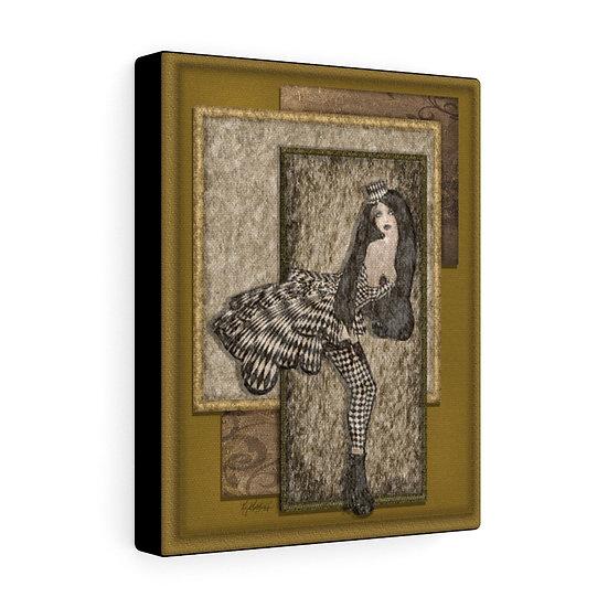 "Gothic Graffiti™ ""Vintage Harlequin"" on Canvas"