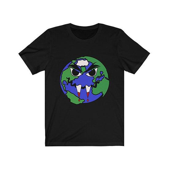 "Gothic Graffiti™ ""Earthpire"" Unisex Short Sleeve T-Shirt"