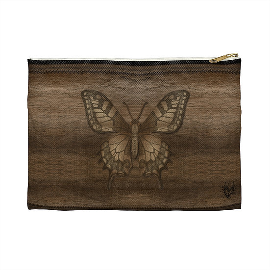 """Gothic Graffiti™ """"Butterfly Collector"""" Accessory Pouch"""