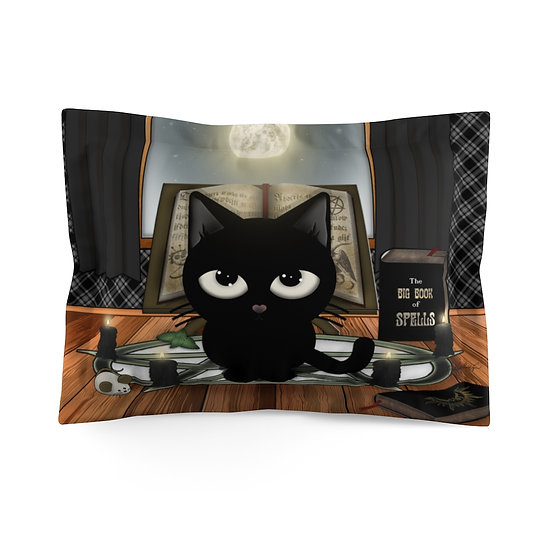 "Gothic Graffiti™ ""Kitty Majik"" Pillow Sham"