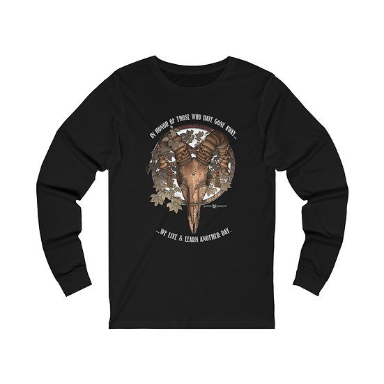 "Gothic Graffiti™ ""In Honor"" Unisex Long Sleeve Jersey"