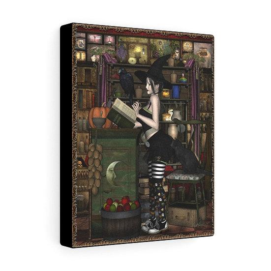 "Gothic Graffiti™ ""Kitchen Witchin'"" on canvas"