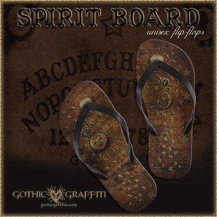 """Spirit Board"" Unisex Flip-Flops"