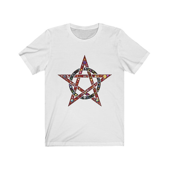 "Gothic Graffiti™ ""All of the Things"" Pentagram T-shirt"