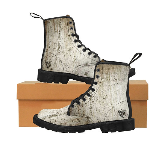 "Gothic Graffiti™ ""Underground"" Men's Canvas Boots"