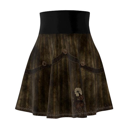 Gothic Graffiti™ Deady Bear Skater Skirt