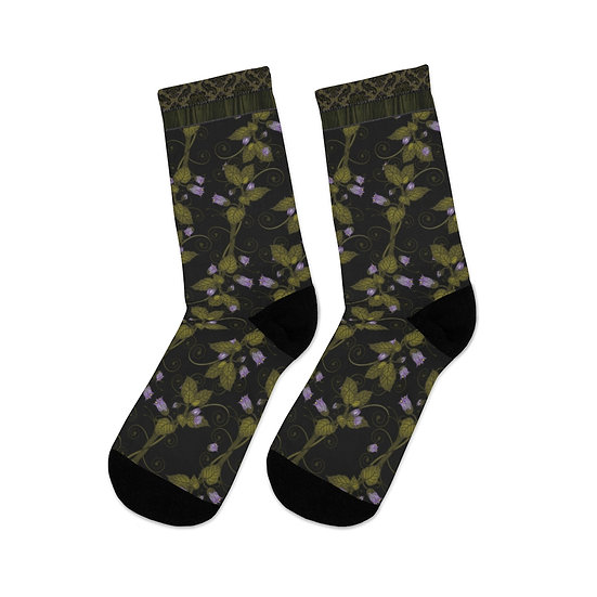 Gothic Graffiti™ Belladonna Socks