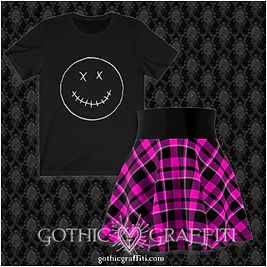 plaid skirt-smile outfit ad.jpg