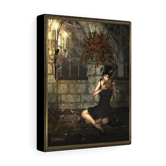 "Gothic Graffiti™ ""Violin Player"" on Canvas"