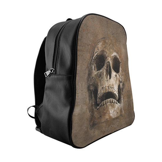 Gothic Graffiti™ Stone Skull Backpack