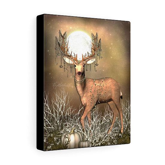 "Gothic Graffiti™ ""Autumn Deer"" on Canvas"