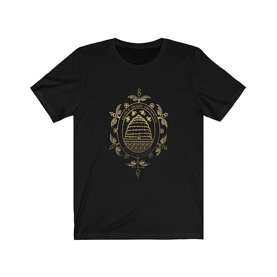 "Gothic Graffiti™ ""Black-Briar Meadery"" Unisex Jersey Short Sleeve Tee"