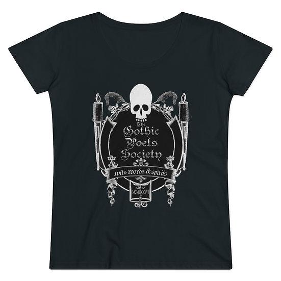 "Gothic Graffiti™ ""The Gothic Poets Society"" Organic Women's T-shirt"
