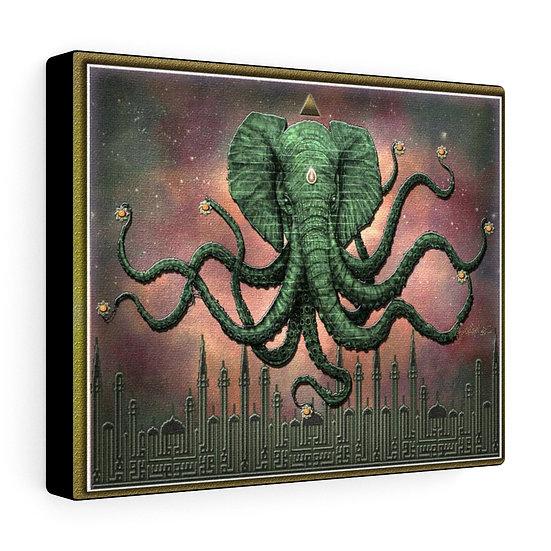 "Gothic Graffiti™ ""Octophant"" on Canvas"