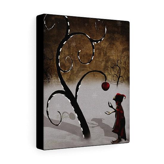"Gothic Graffiti™ ""The Last Apple"" on Canvas"