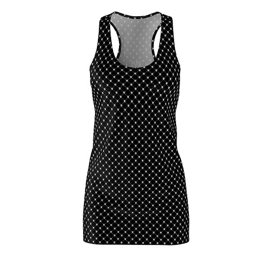 Gothic Graffiti™ Skull Lattice Tank Dress