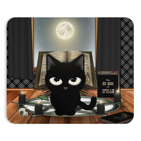 """Gothic Graffiti™ """"Kitty Majik"""" Mousepad"""