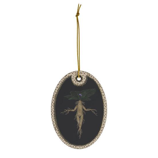 Gothic Graffiti™ Witches Garden Ceramic Ornament-
