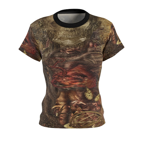 "Gothic Graffiti™ ""Dissection"" Women's Fit Art Tee"