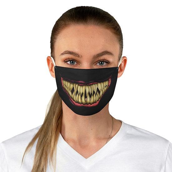 Gothic Graffiti™ Fang Mouth Fabric Face Mask