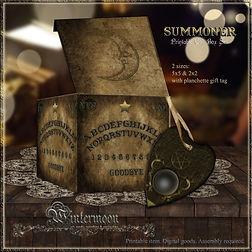 Summoner printable gift box set promo.jp