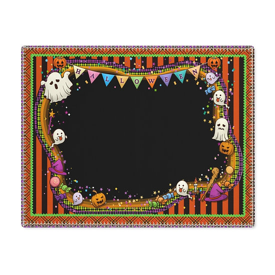 """Gothic Graffiti™ """"Halloween Party"""" Placemat"""