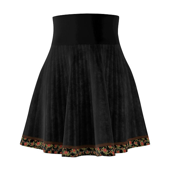 """Campus Rose"" Skater Skirt"