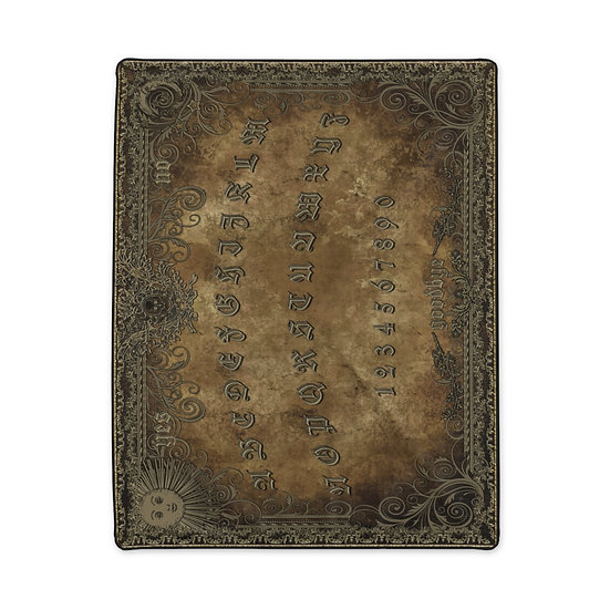 Gothic Graffiti™ Antique Spirit Board Polyester Blanket